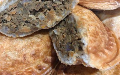 Vegetarian Pies or Sausage Rolls